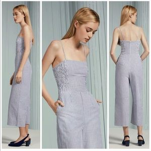 Anthropologie NWT Striped Jumpsuit The Fifth Label
